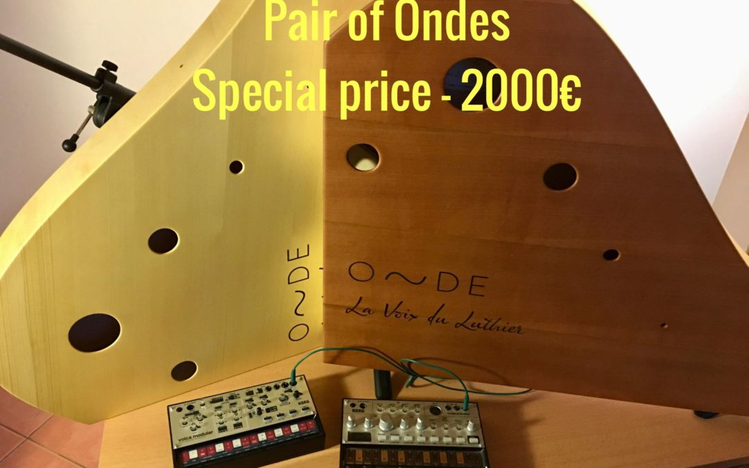 Pair of Ondes – Special price – 2000€